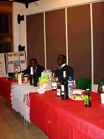 Daasebere Prof Oti Boateng and Mr Quansah of the High Commission