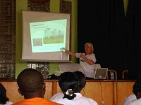Patti lectures on Radiology at Koforidua